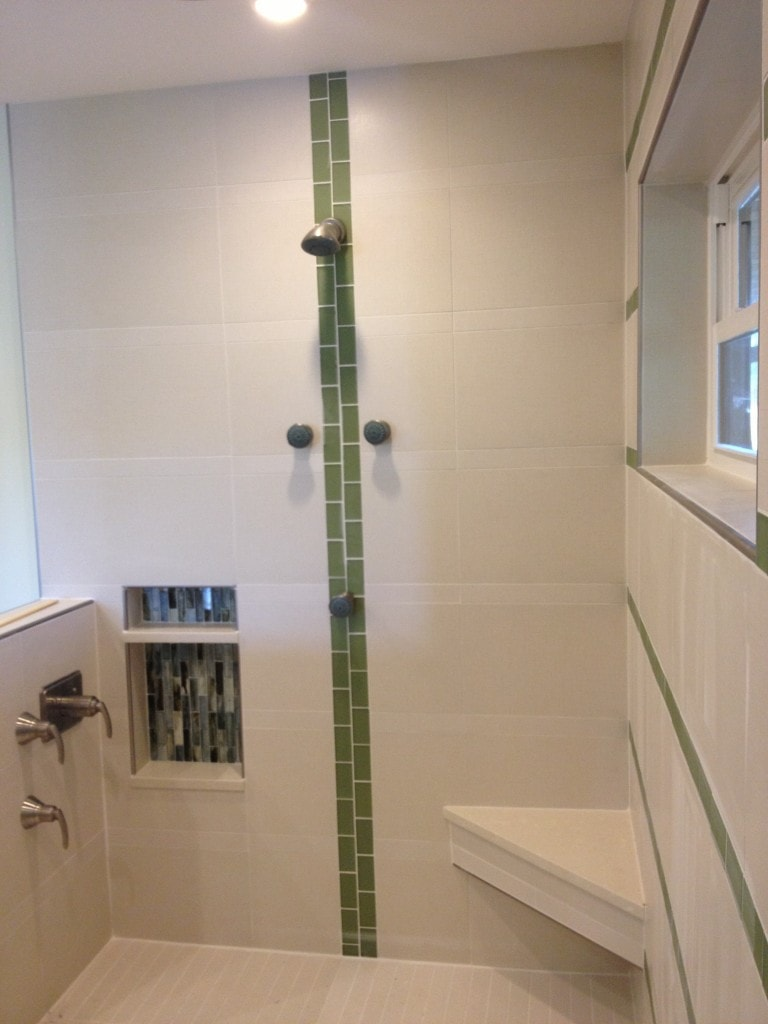 Palm Trees Showers And Ditra Englewood Tile Store